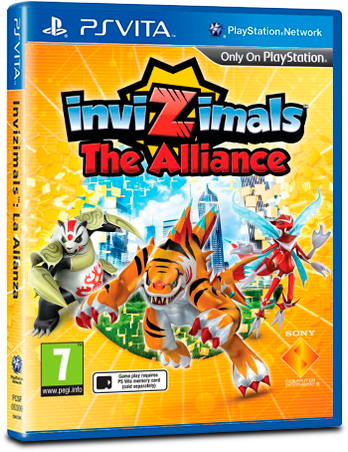 Invizimals: The Alliance
